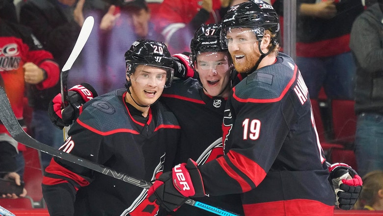 Hurricanes end West Coast trip with convincing win over Ducks