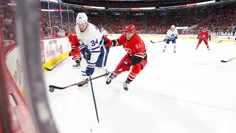 Hurricanes stumble at home against Maple Leafs