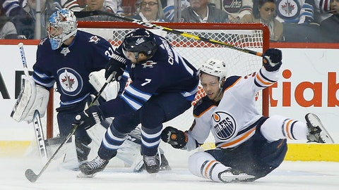Morrissey scores in OT as Jets edge Oilers