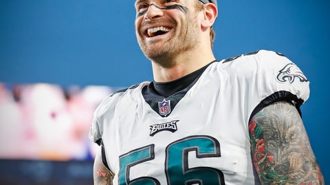 Chris Long is happy