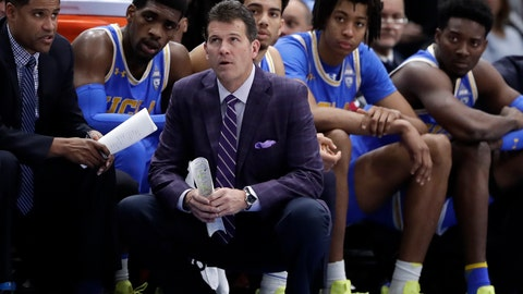 <p>               File-This Dec. 22, 2018, file photo shows UCLA head coach Steve Alford and his players watching during the second half of an NCAA college basketball game against Ohio State, in the fifth annual CBS Sports Classic, in Chicago.  Alford has been fired as UCLA basketball coach after six seasons, with the Bruins mired in a four-game skid that included losses at home to Belmont and Liberty. Athletic director Dan Guerrero said Monday, Dec. 31, 2018, that assistant Murry Bartow will serve as interim coach through the end of the season. (AP Photo/Nam Y. Huh, File)             </p>