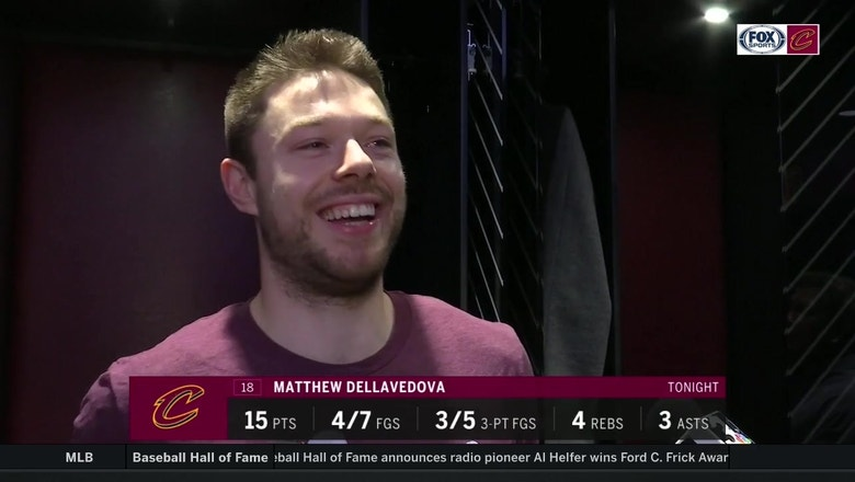 Dellavedova reacts to the 'MVP' chants in his return to Cleveland