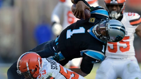 Baker Mayfield, Jarvis Landry lead Cleveland Browns to upset of Carolina Panthers
