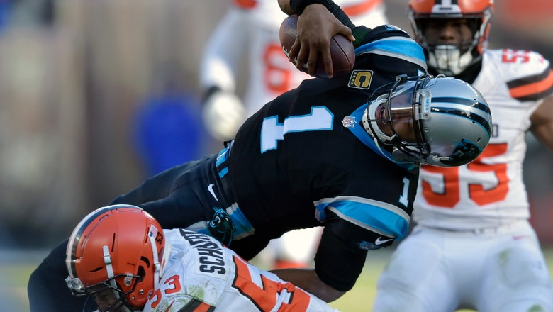 Panthers' playoff hopes take major blow with loss to Browns