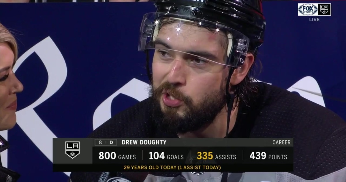 Drew Doughty excited to celebrate his birthday after LA Kings win