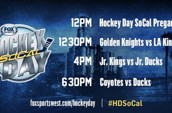 Second 'Hockey Day SoCal' slated for Saturday on FOX Sports West