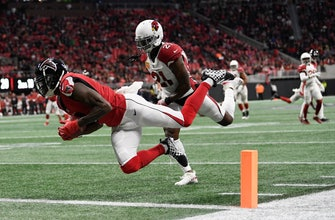 Julio Jones, Deion Jones pace Falcons' easy win over Cards
