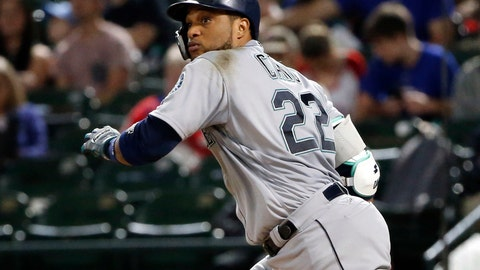 <p>               FILE - In this Sept. 22, 2018, file photo, Seattle Mariners' Robinson Cano watches his double against the Texas Rangers during the seventh inning of a baseball game in Arlington, Texas. The New York Mets have acquired longtime star second baseman Cano and major league saves leader Edwin Diaz from the Seattle Mariners in a seven-player trade. (AP Photo/Michael Ainsworth, File)             </p>
