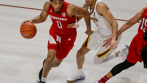 <p>               Nebraska guard James Palmer drives on (15 Minnesota guard Amir Coffey in the first half of an NCAA college basketball game Wednesday, Dec. 5, 2018, in Minneapolis. (AP Photo/Andy Clayton-King)             </p>