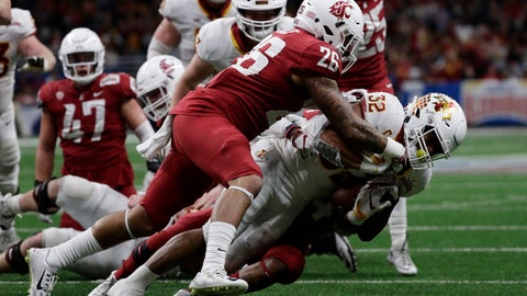 Gardner Minshew Leads Washington State Past Iowa State, 28-26