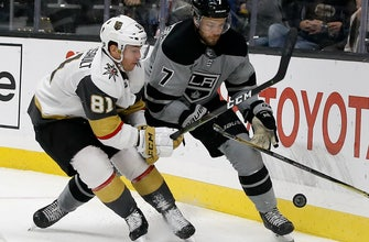 Kings tie season high in goals with 5-1 victory over Vegas