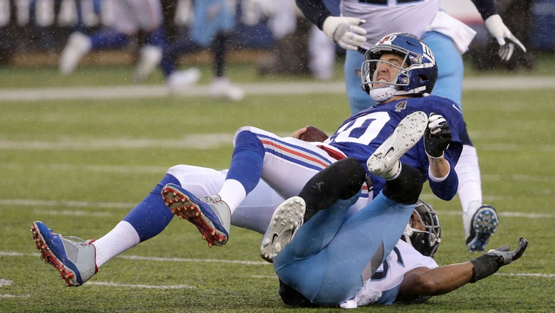Titans cornerback Logan Ryan says he has broken left leg