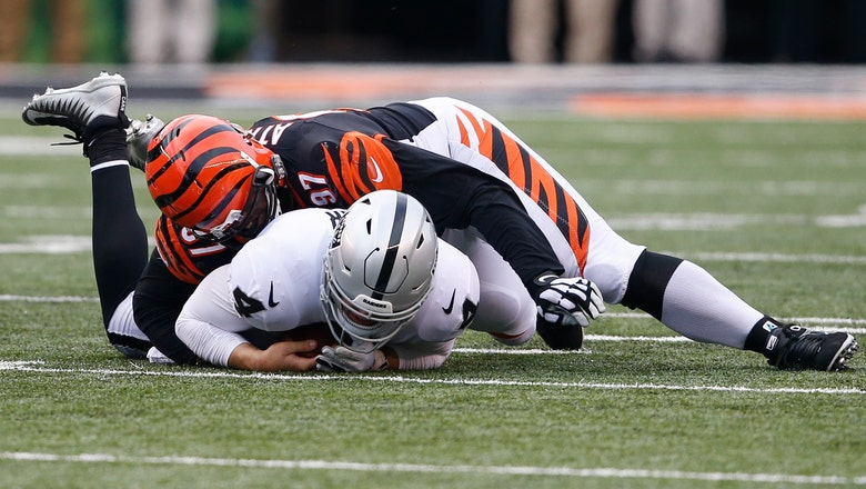 Raiders hope to get help for banged-up offensive line