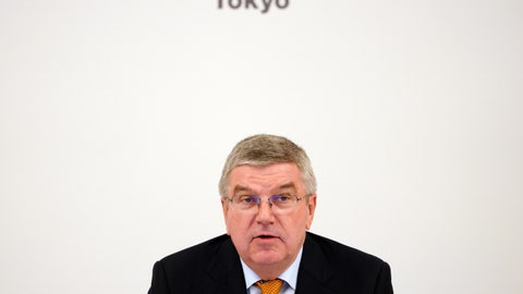 <p>               International Olympic Committee (IOC) President Thomas Bach attends an IOC Executive Board meeting Saturday, Dec. 1, 2018, in Tokyo. The IOC said boxing will take place at the 2020 Tokyo Olympics. But exactly who runs the tournament and the details of qualifying are up in the air because of charges of corruption and malfeasance surrounding the boxing federation that runs the sport at the Olympics. (AP Photo/Eugene Hoshiko)             </p>