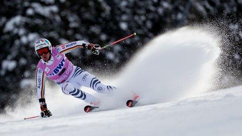 <p>               Germany's Stefan Luitz skis during the first run of a Men's World Cup giant slalom skiing race Sunday, Dec. 2, 2018, in Beaver Creek, Colo. (AP Photo/John Locher)             </p>