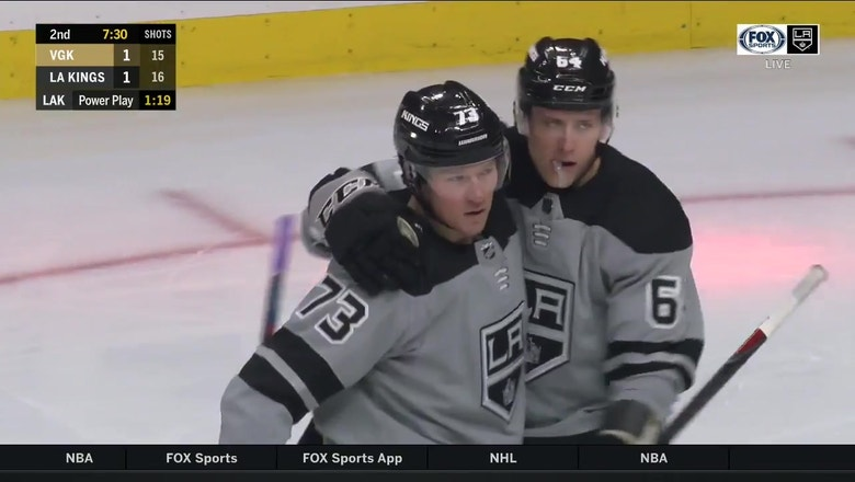 Highlights: LA Kings score 5 unanswered in revenge game vs. Golden Knights