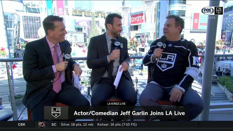 Comedian Jeff Garlin explains his hatred of Vegas, brings pure comedy gold to LA Kings Live