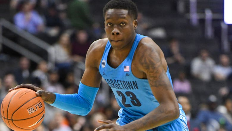 Josh LeBlanc's double-double gives Georgetown the win against rival Howard