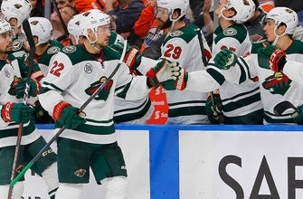 WATCH: Wild's Foligno, Niederreiter score in loss to Oilers