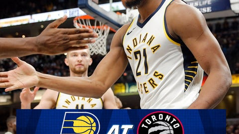 Pacers Choke Late, Lose To Raptors 99-96