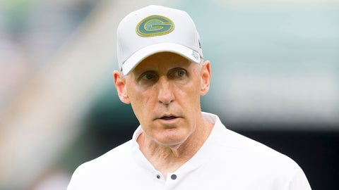 Joe Philbin, Packers head coach ( EVEN)