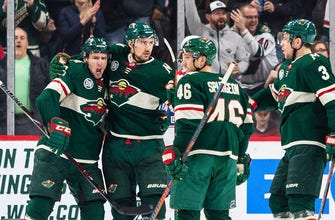 WATCH: Wild's Parise, Coyle, Niederreiter line dominates again