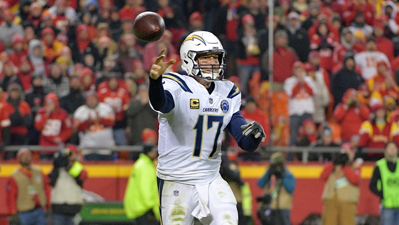 Marcellus WIley thinks there's no way Philip Rivers wins the NFL MVP