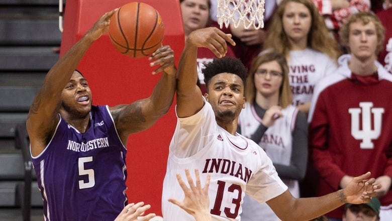 Hoosiers open conference play with 68-66 win over Northwestern
