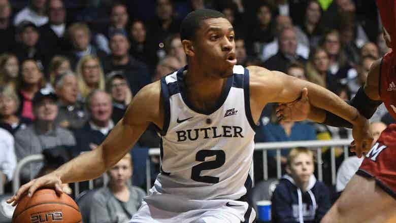 Thompson's 18 points lift Butler past Presbyterian 76-67