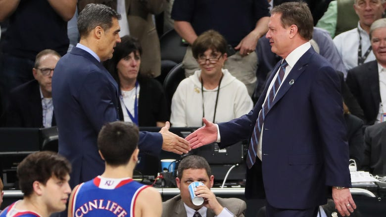 Jayhawks welcome Villanova to Lawrence for Final Four rematch