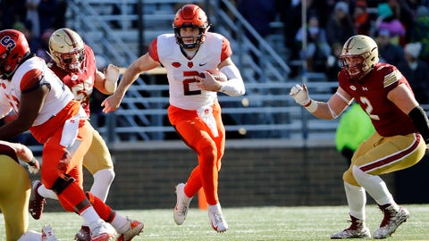 2. Camping World Bowl: No. 20 Syracuse vs. No. 16 West Virginia, Dec. 26