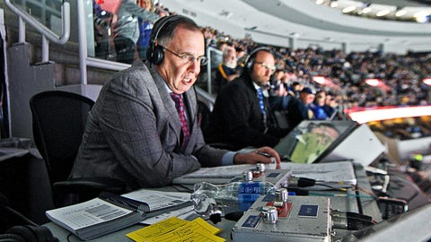 Blues play-by-play announcer John Kelly of FOX Sports Midwest.