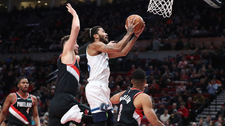Twi-lights: The best from Timberwolves at Trail Blazers
