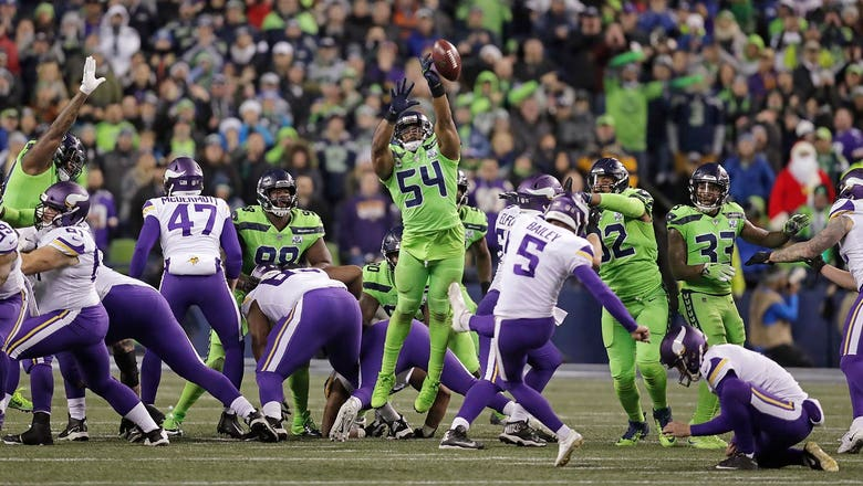 PHOTOS: Vikings at Seahawks