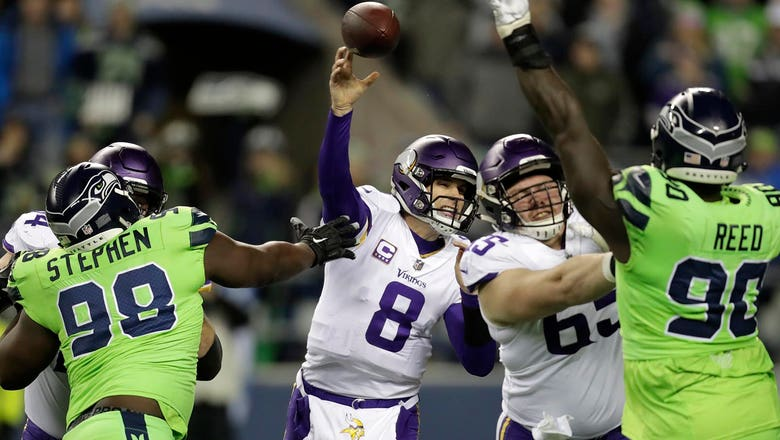 Cousins, Vikings shut down by Seahawks in 21-7 loss