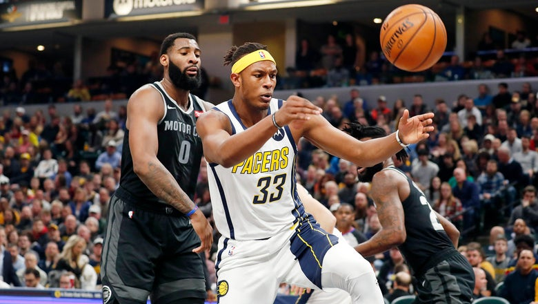 Pacers to open 2019-20 season Oct. 23 at home against Pistons