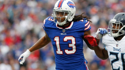 Sammy Watkins Likely Out Until Playoffs After Re-Injuring Foot in Practice