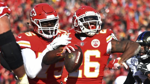 Kansas City Chiefs vs. L.A. Chargers score