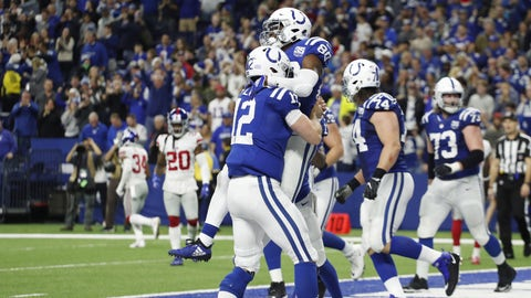 Stock up, Stock Down in Colts' comeback win over Giants