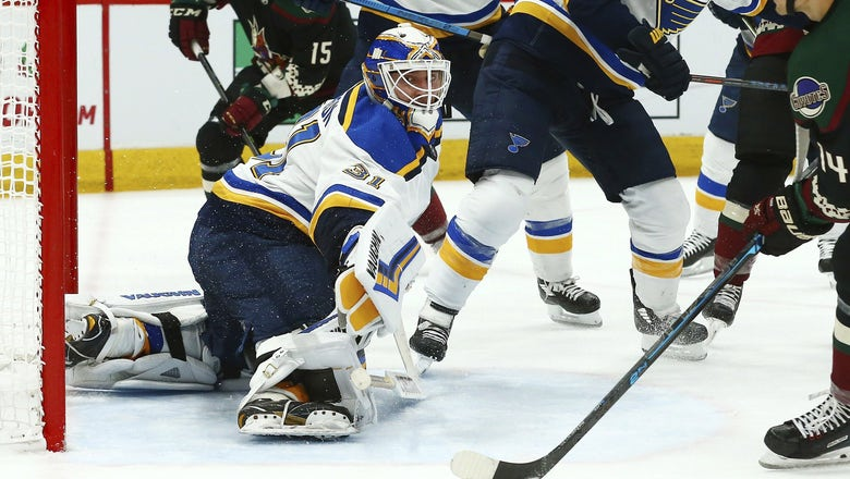 Blues place Johnson on waivers after calling up Binnington