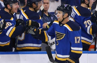 Schwartz returns to Blues lineup after missing 11 games
