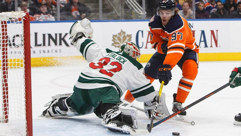 McDavid, Oilers rout Wild 7-2