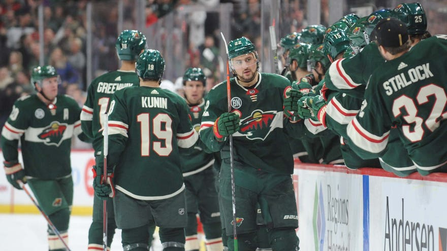 Nino Niederreiter Line Leads The Way As Wild Rout Panthers 5-1
