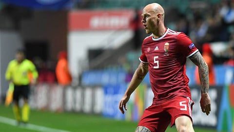 Botond Barath, Hungarian soccer player.