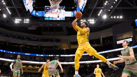 Markus Howard, Marquette shooting guard (↑ UP)