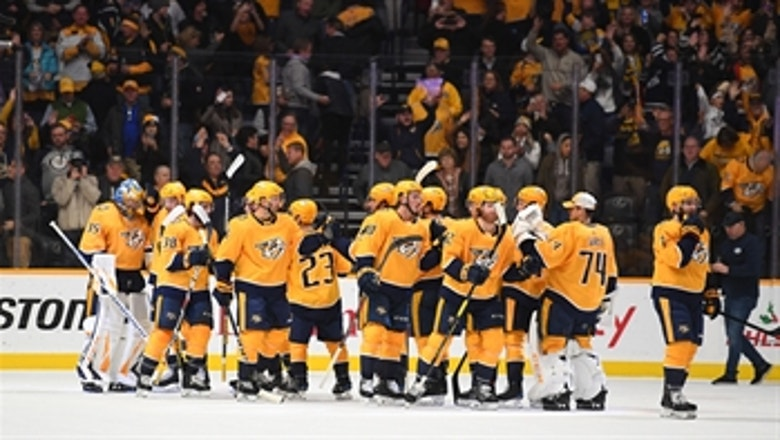 Ryan Ellis, Kevin Fiala net goals in Preds' win over Sabres