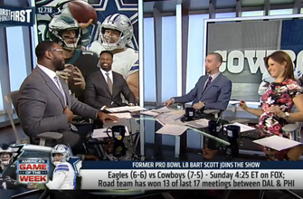 WATCH: Nick Wright and Chris Canty's biggest keys for Sunday's Cowboys vs Eagles | NFL | FIRST THINGS FIRST
