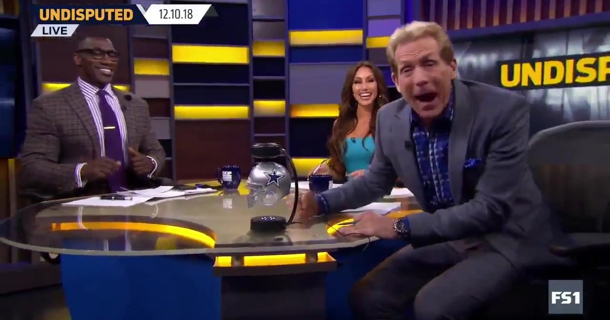 HOW  BOUT THEM COWBOYS !  Skip Bayless brought the props after ... 330221e93