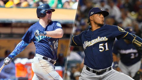 Dec. 9, 2015: Traded Adam Lind to the Seattle Mariners for Carlos Herrera, Daniel Missaki and Freddy Peralta