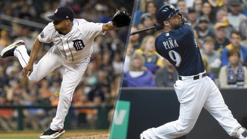 Nov. 18, 2015: Traded Francisco Rodriguez to the Detroit Tigers for a player to be named later (Manny Pina) and Javier Betancourt